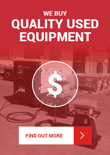 We Buy Quality Used Equipment